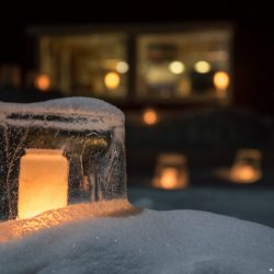 Le village des 1000 lanternes de glace