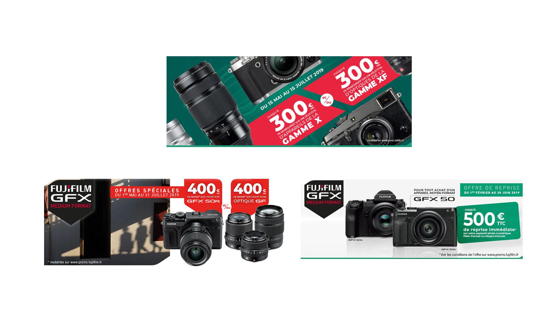 Fujifilm : 3 offres promotionnelles pour bien aborder l'été