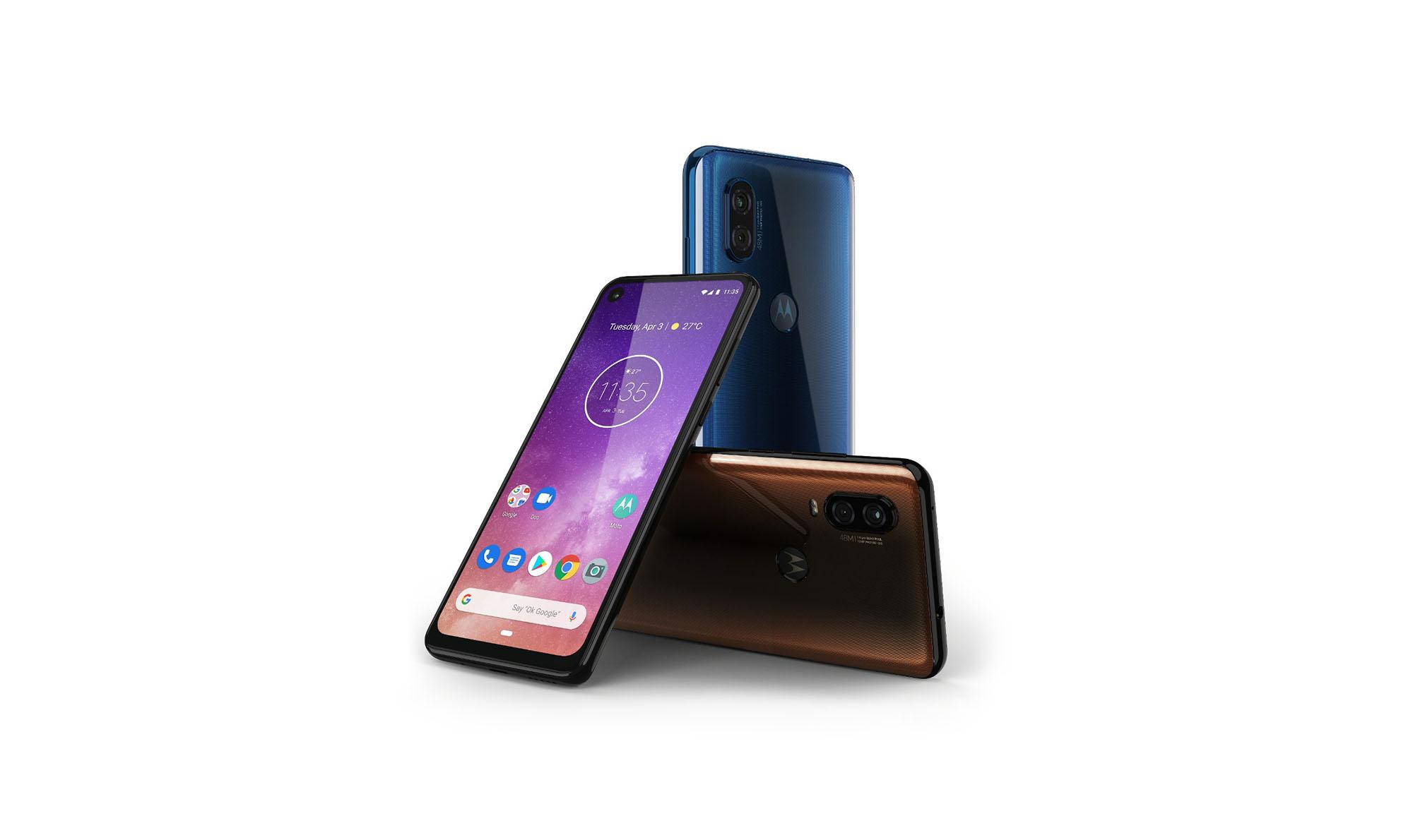Motorola One Vision : capteur photo 48 Mpx et écran 21:9