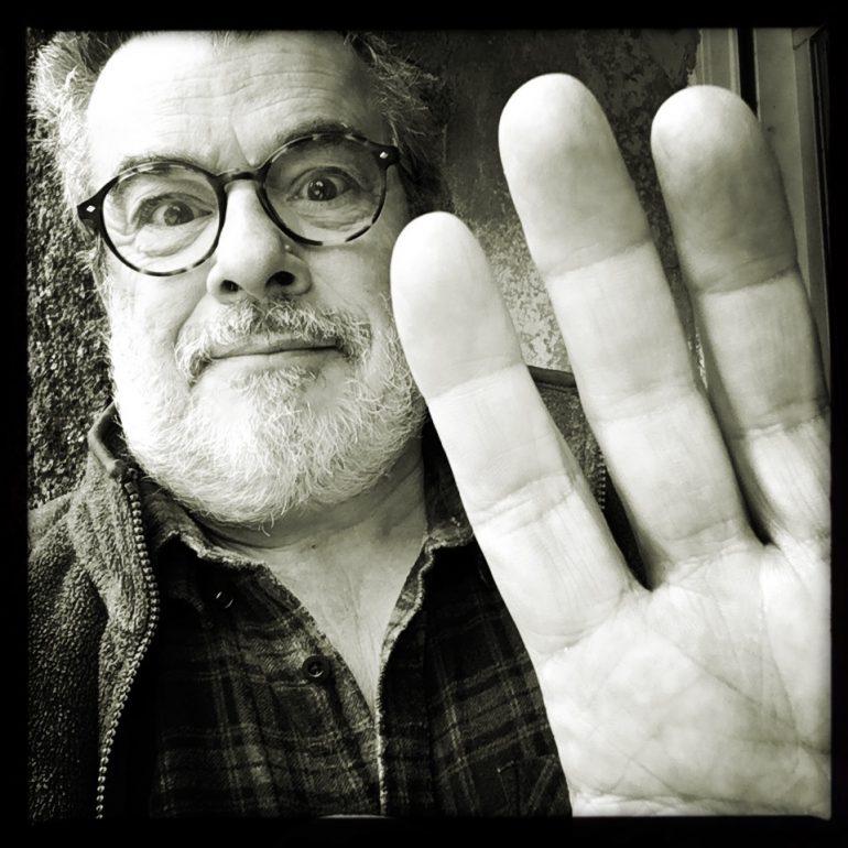 HUbert Jeannin, autoportrait