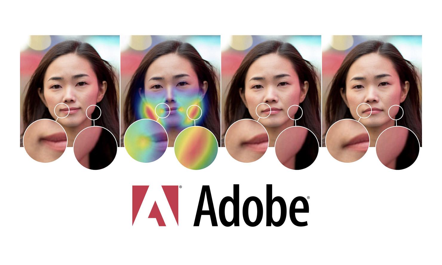 Adobe : l'IA pour identifier les portraits retouchés