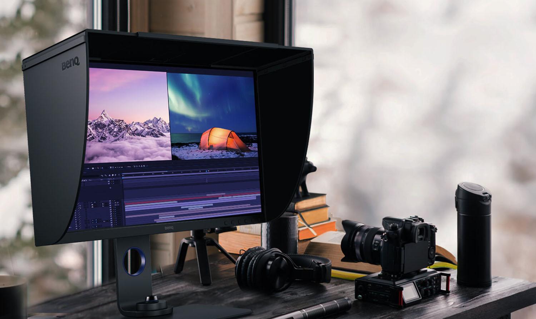 BenQ SW270C : un écran de 27″ taillé pour les photographes