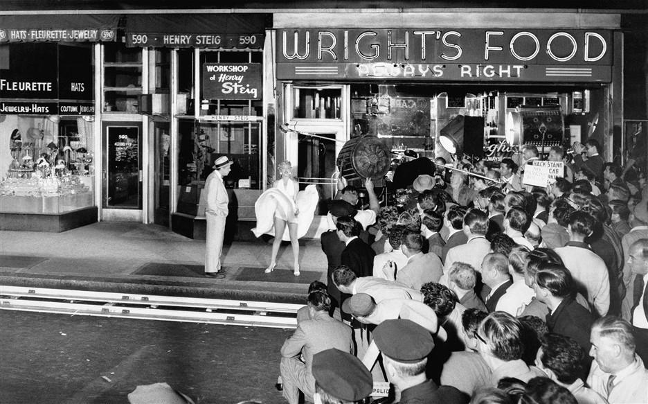 Marilyn Monroe dans une rétrospective iconique