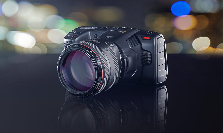 Pocket Cinema Camera 6K : Blackmagic passe à la définition supérieure