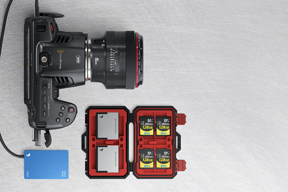 Pocket Cinema Camera 6k Blackmagic Passe A La Definition Superieure Lense