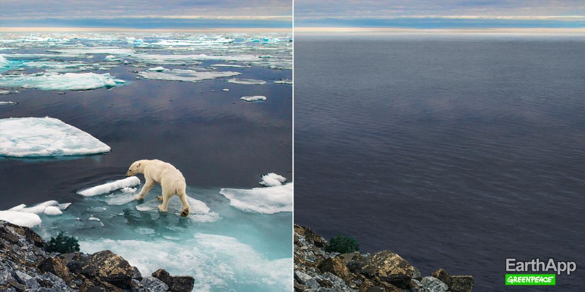 EarthApp vous montre l'effrayant visage de la Terre dans quelques années