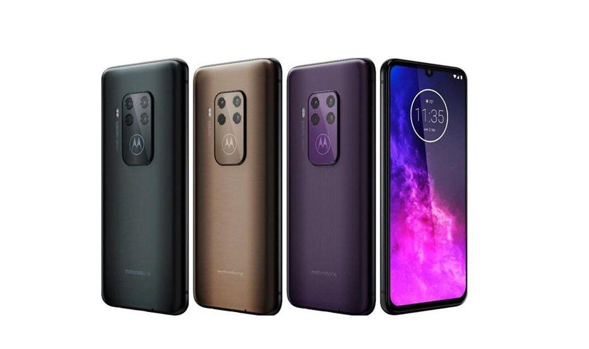 Motorola One Zoom - Couv