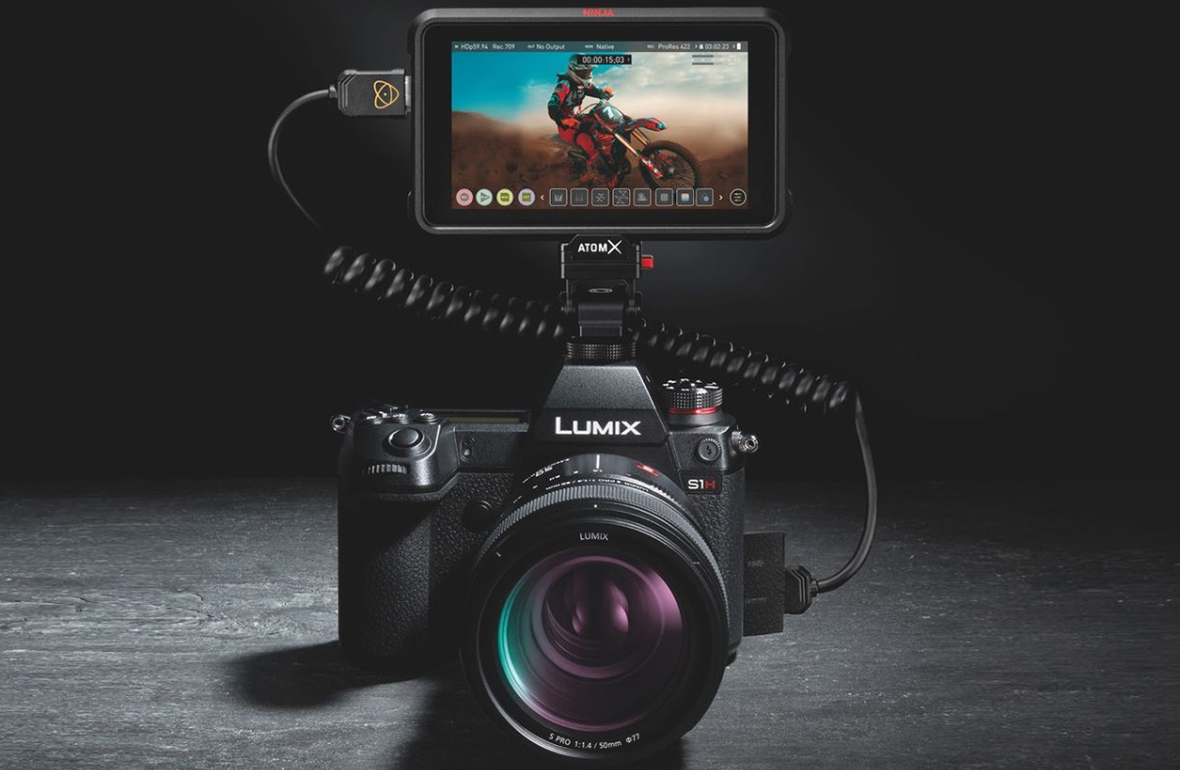 Lumix S1H et Atomos Ninja V : un kit de lancement et déjà une mise à jour