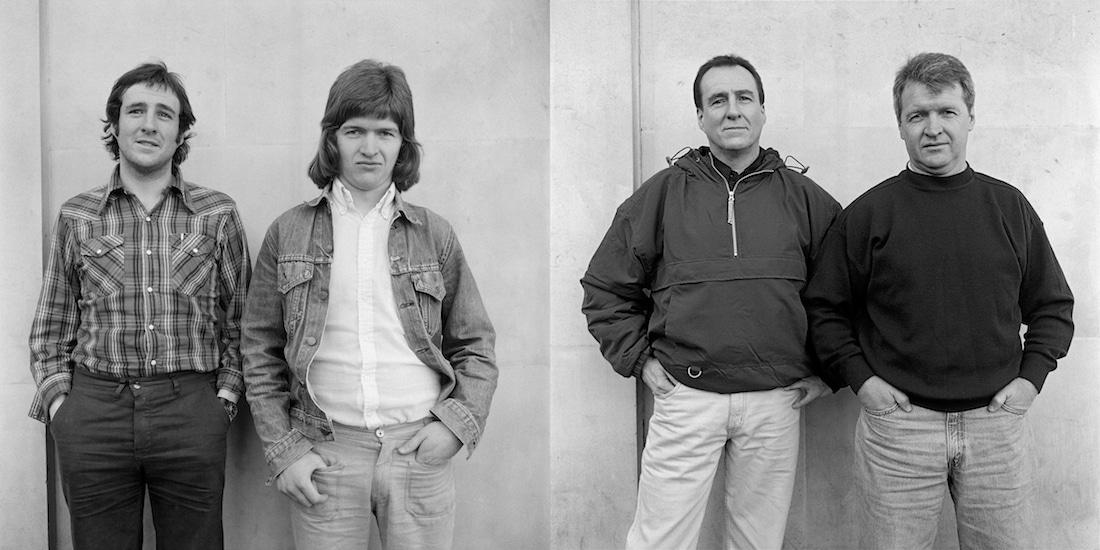 Un photographe prend en photo ses modèles 25 ans après