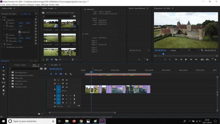 Montage Premiere Pro