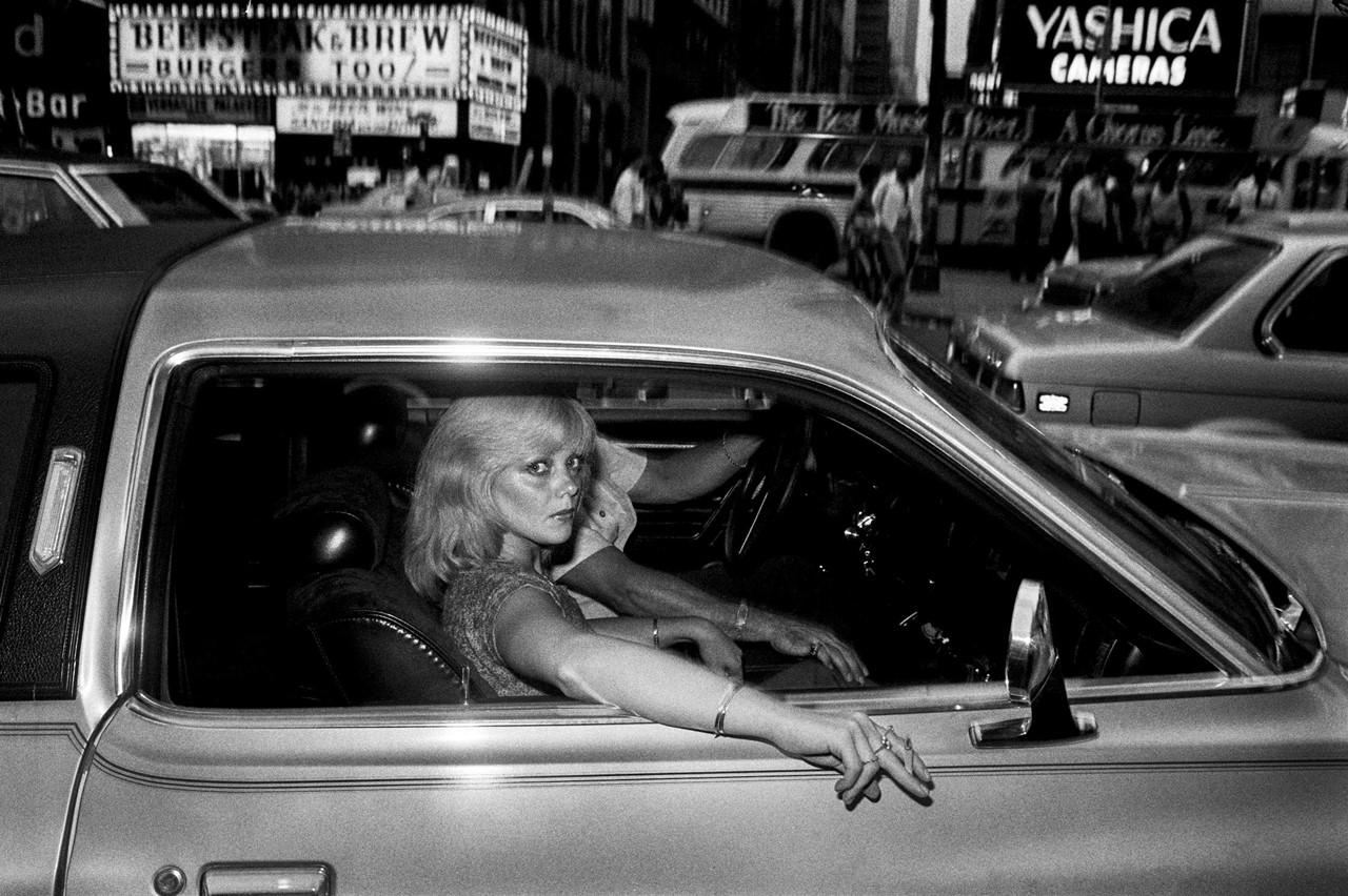 Les rues de New York dans les années 1970 par Bruce Gilden