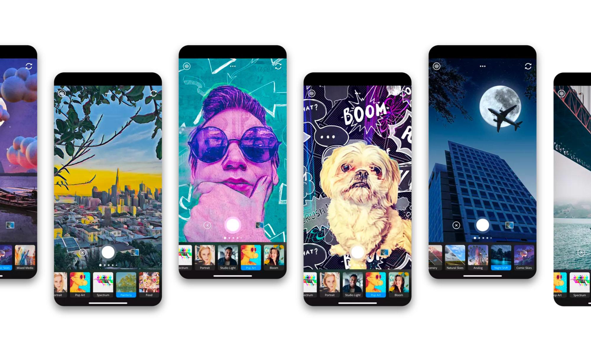 Photoshop Camera : l'app de prise de vue conçue par Adobe