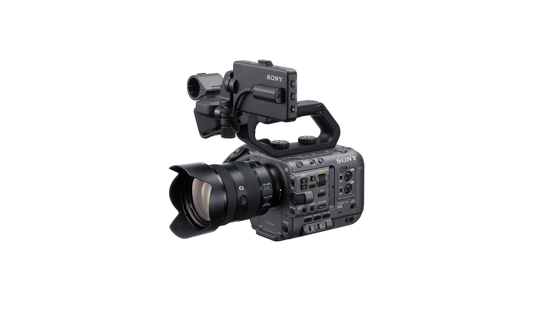 """Sony FX6 : la nouvelle caméra plein format """"Cinema Line""""   Lense"""