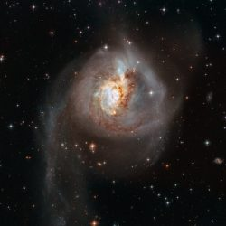 Peculiar galaxy NGC 3256