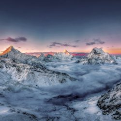SkyPixel 6th Anniversary Contest-Photo Group-First Prize-Nature-远眺三怙主雪山
