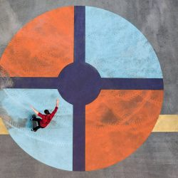 SkyPixel 6th Anniversary Contest-Photo Group-First Prize-Sport-Colour Series - Bulls Eye