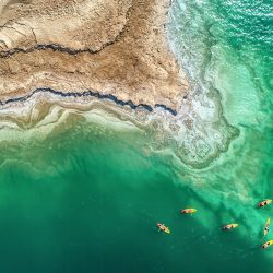 SkyPixel 6th Anniversary Contest-Photo Group-Second Prize-Sport-dead sea kayak exploration