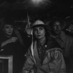 26_Lisette Model, Newport Jazz Festival, Opening in Rain, 1954-1956