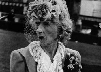 8_Lisette Model, Woman with Veil, San Francisco, 1949