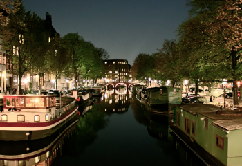 Amsterdam's night