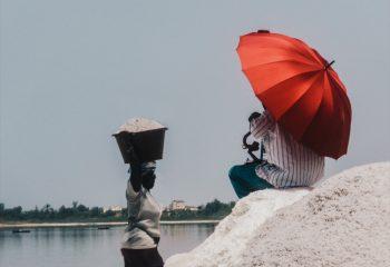 Salt workers
