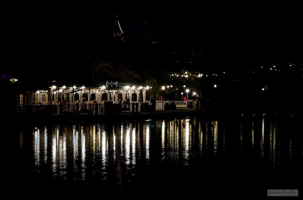 Disneyland Lake Pier