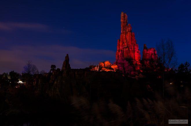 Disneyland at night 2