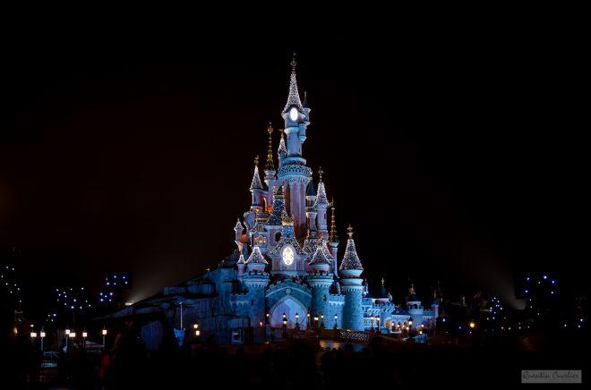 Disneyland at night 4