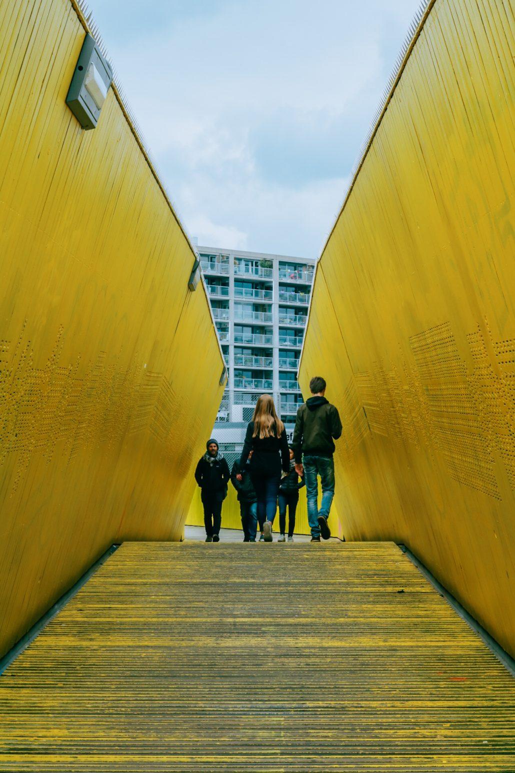 Luchtsingel Bridge Rotterdam