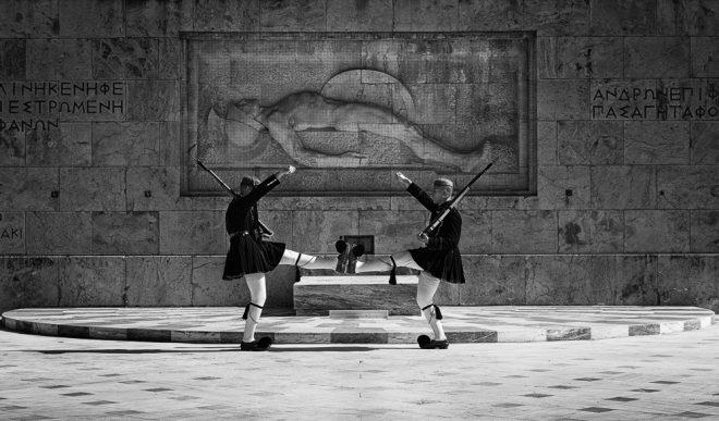 Le ballet des Evzones