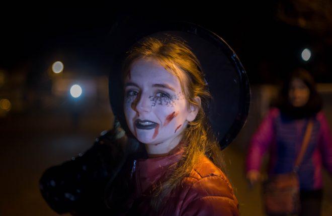 foulées d'Halloween