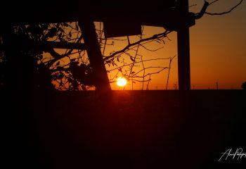 Coucher de soleil Beauceron