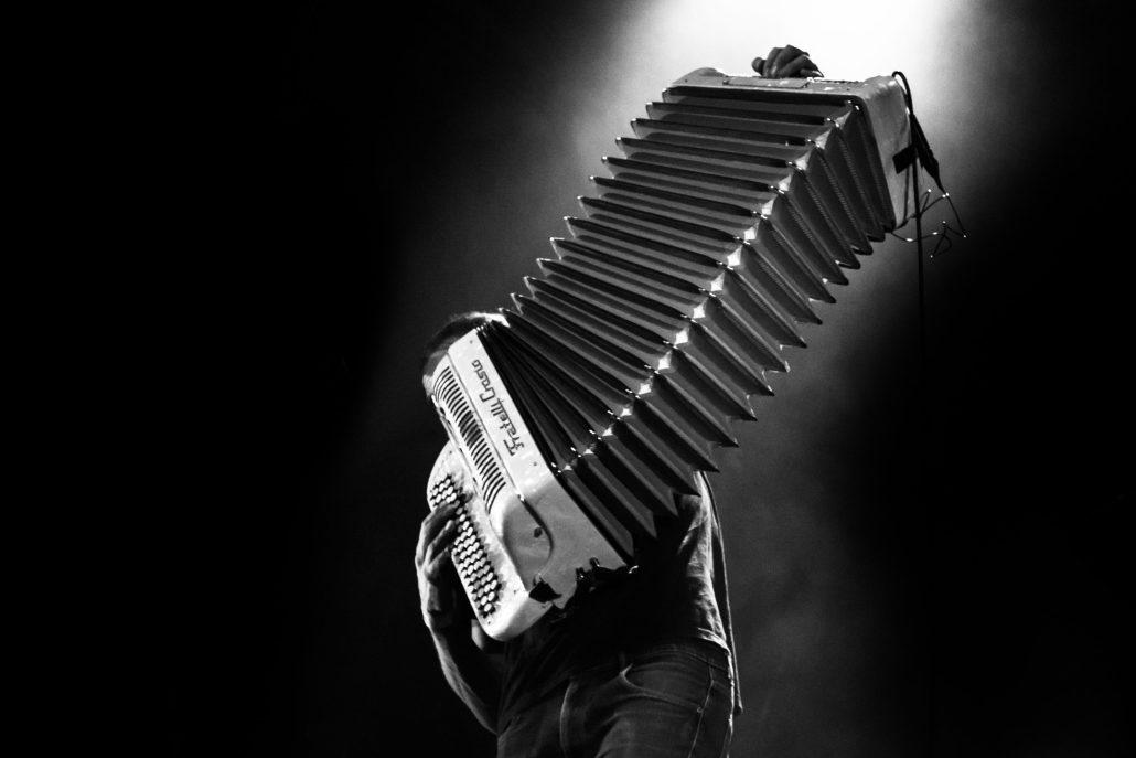 La pulsation de l'accordéon