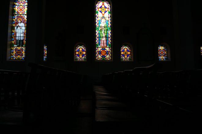 Une aprèm dans l'église