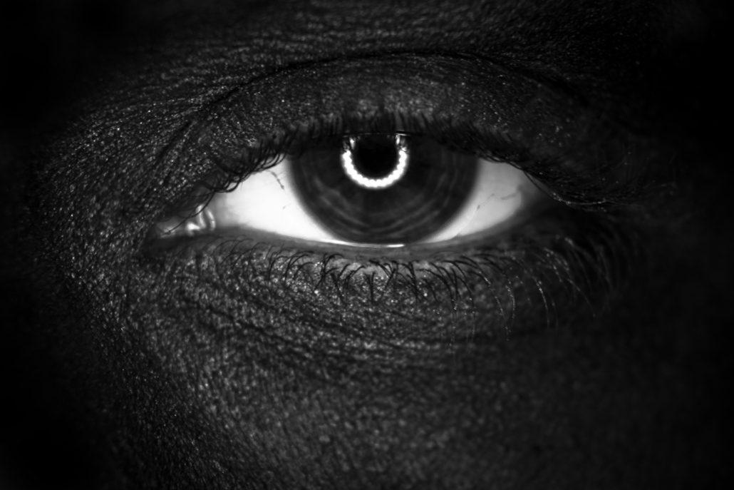 L'oeil noir