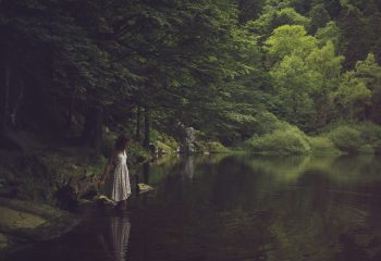 Au bord du lac silencieux
