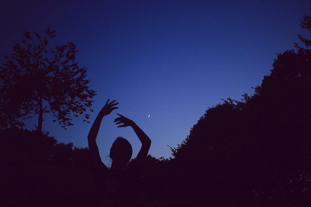 Danser avec la lune
