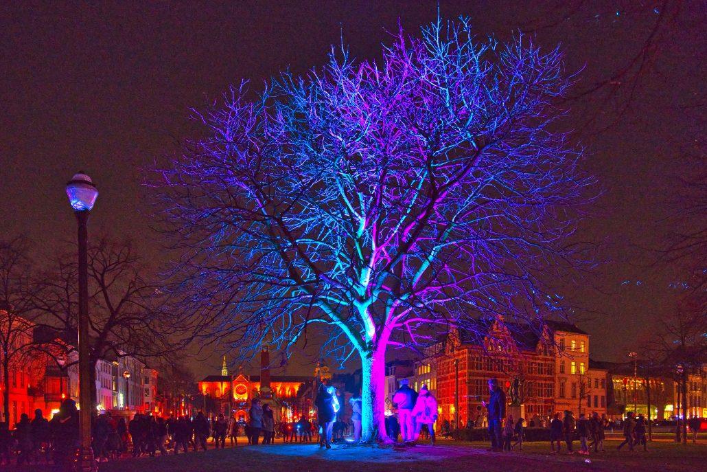 Festival «Bright» à Buxelles
