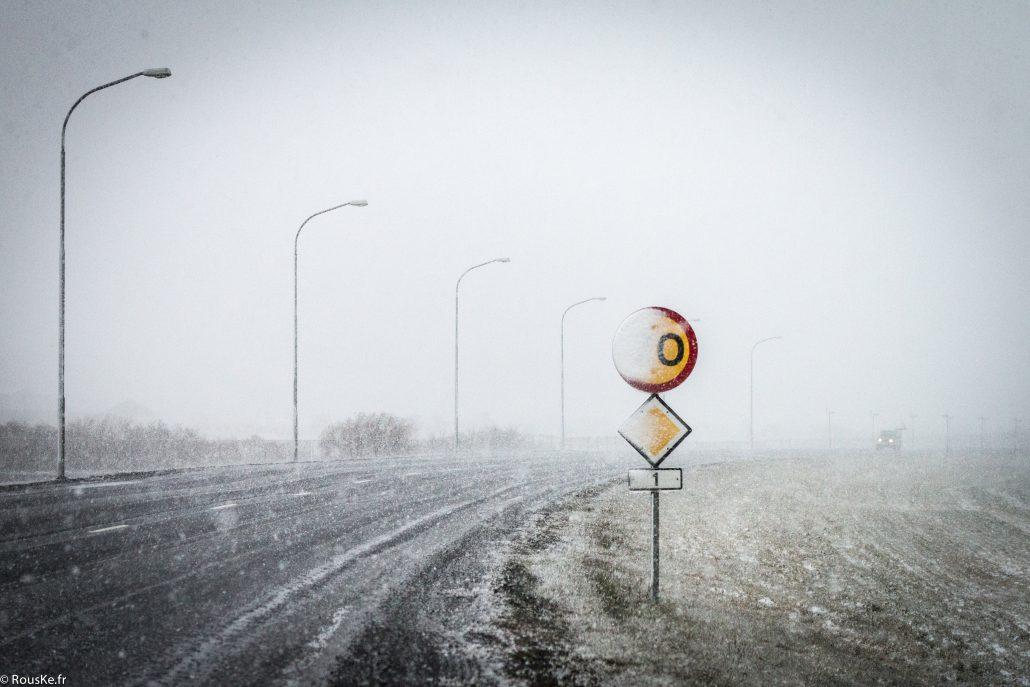 Tempête Islandaise