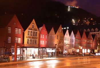 Bergen nuit