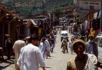 Bazar de Bahrain (Swat Valley)