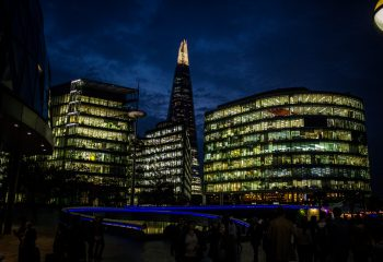 Lights and the Shard