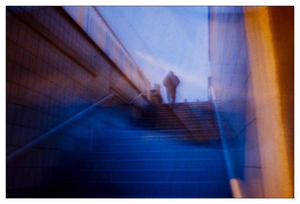 Le blue du tunnel