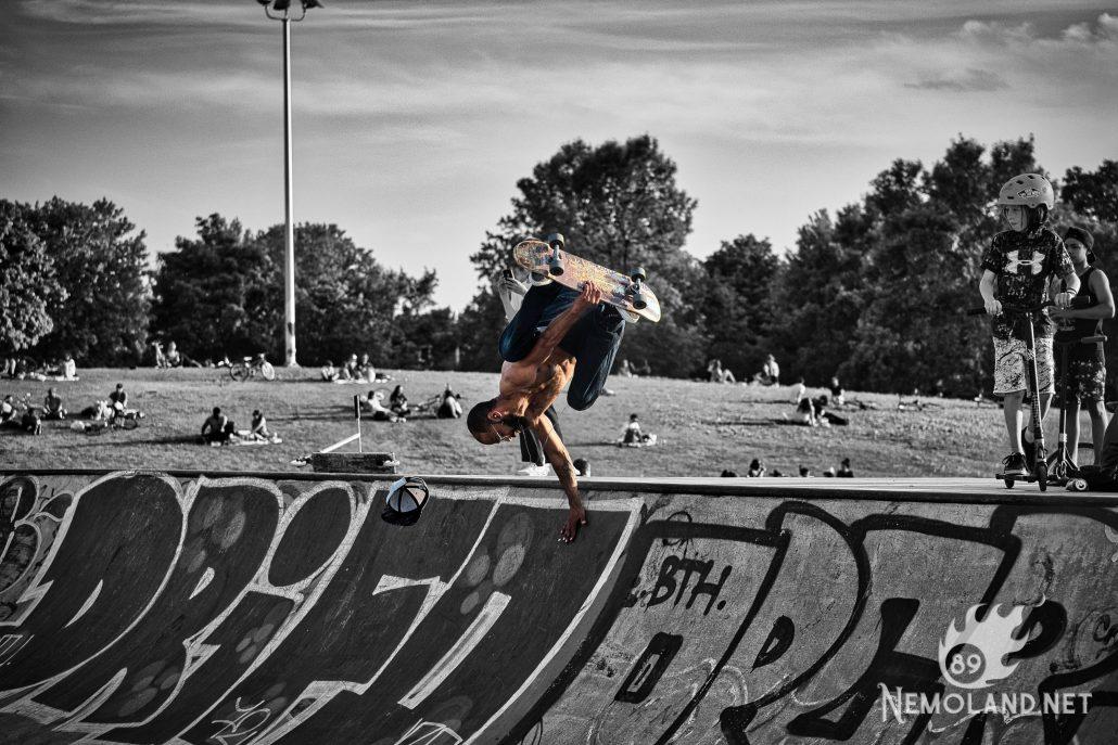 Skater en action