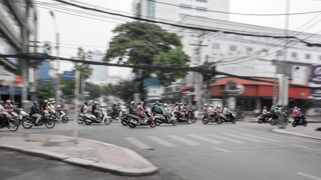 Saïgon's traffic