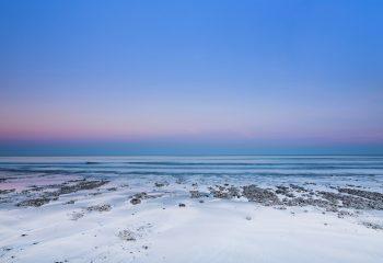 La plage au levant