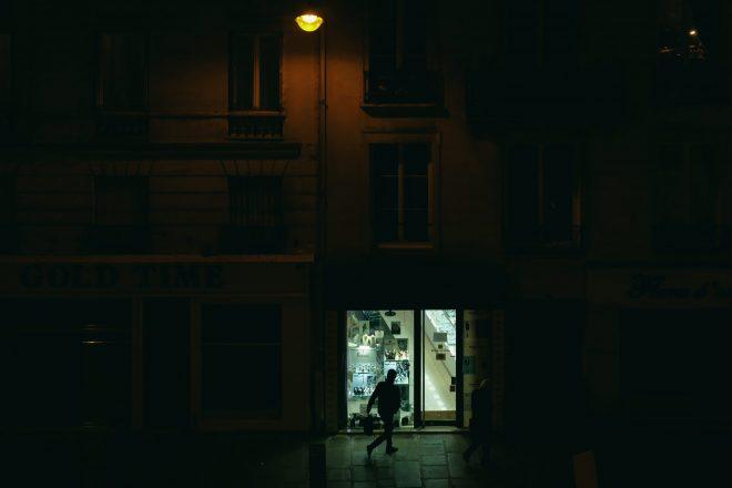 Lueur de la rue