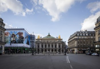 Covid Diaries, 18 mars 16h29. Avenue de l'Opéra