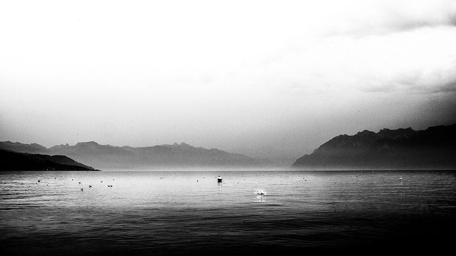 Les montagnes du lac