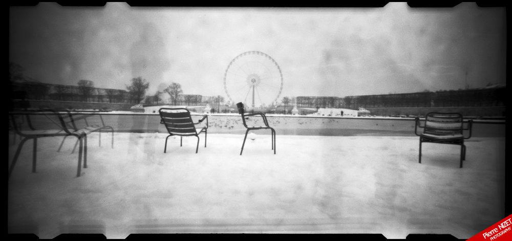 Jardin des Tuileries, Paris, Dimanche 13 Janvier 2013, 11h26